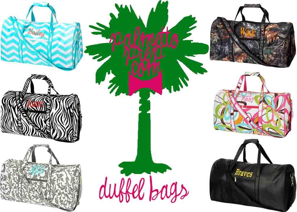 Duffel Bags-monogrammed duffel bag, duffel bag, personalized, embroidered duffel bag, travel bag, monogrammed travel bag, gym bag, sports bag, custom duffel bag, carry on bag, weekend bag, weekend duffel, custom weekend bag
