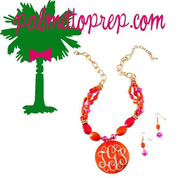 Orange Crush Necklace Set-