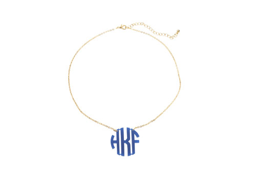 Acrylic Monogram Necklace-custom necklace, monogram necklace, acrylic necklace, personalized necklace, acrylic monogram, acrylic monogram necklace