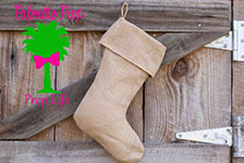 Rustic Stockings-