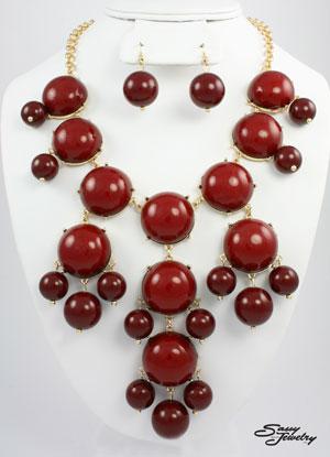 Bubble Necklace -Large-popular, fashion, jewelry, bubble,  necklace